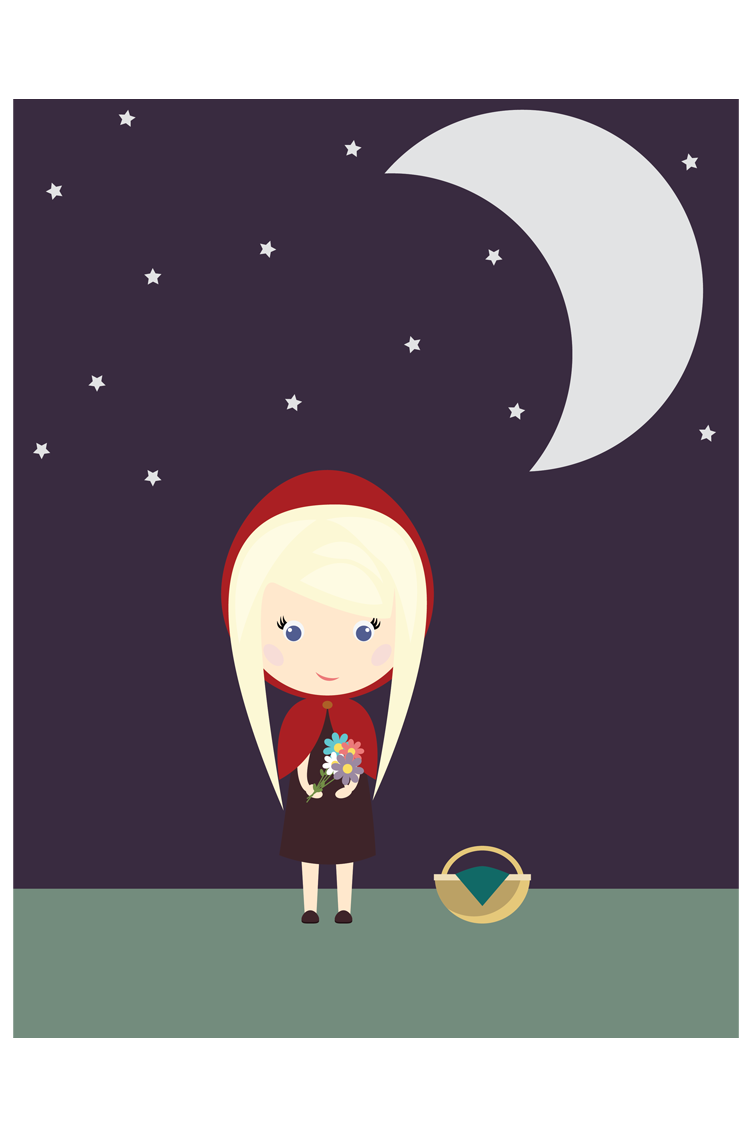 Little Red Riding Hood (Tutorial)