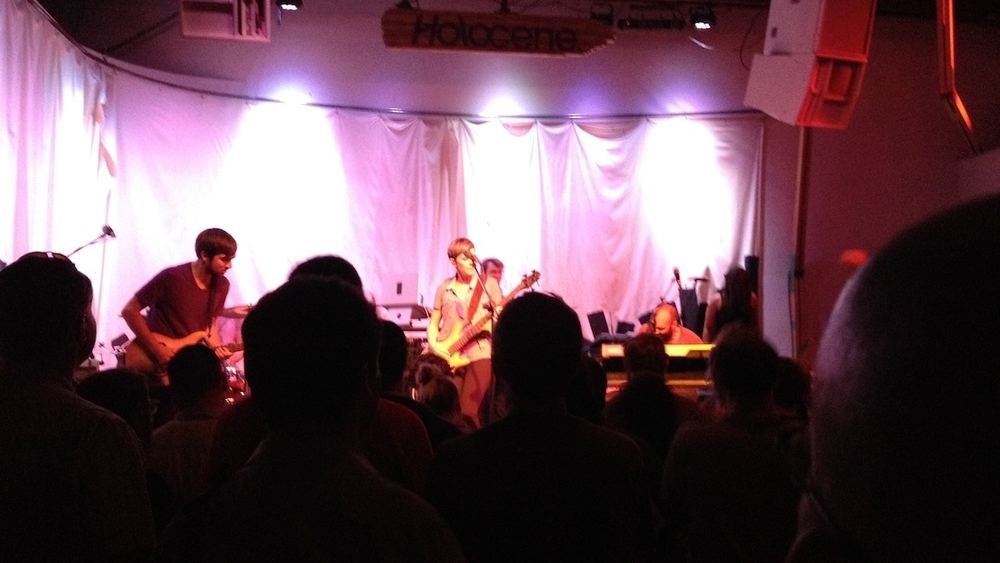 Hey, it's Pomplamoose!  (Live at Holocene, Friday night)  Do not miss them, people!
