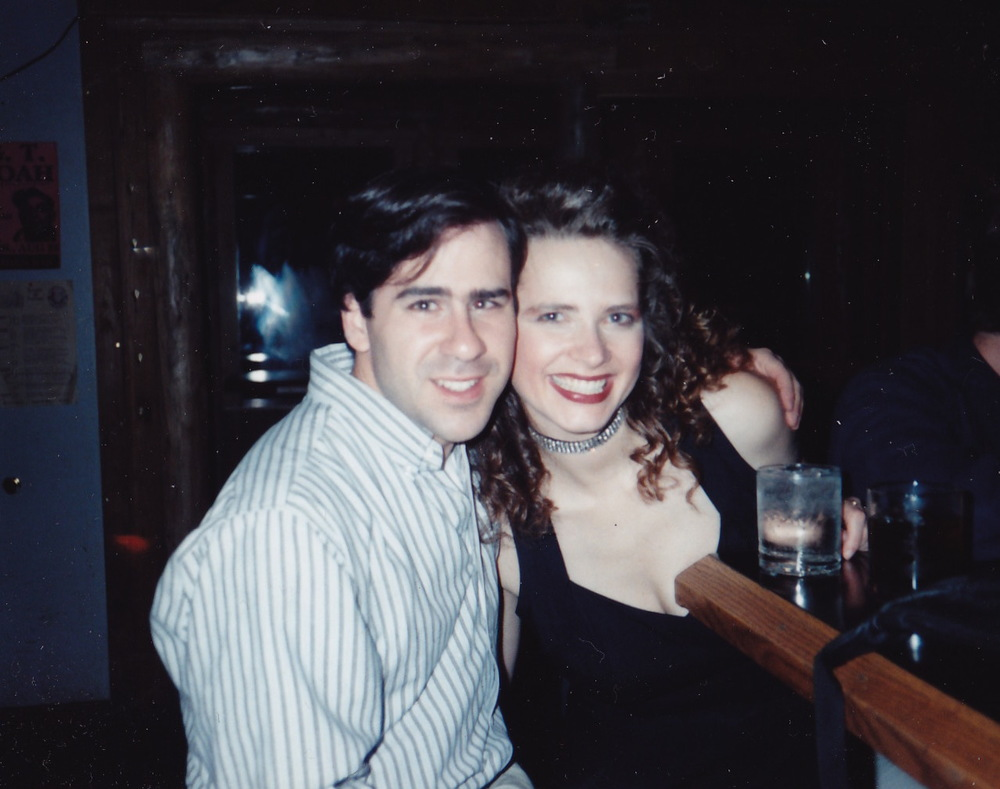 Adam Marshall and Kristin Marshall in 1994