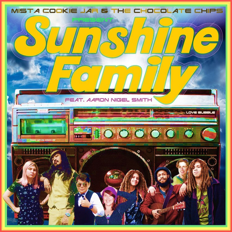 """Sunshine Family"" single cover"