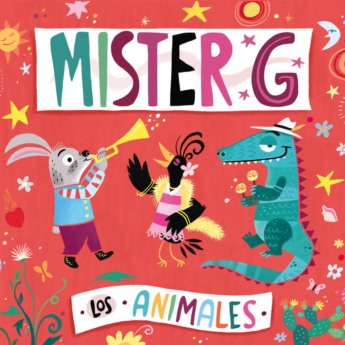 "Mister G ""Los Animales"" album cover"