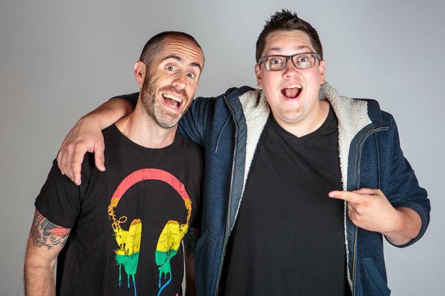 Josh Shriber and Patrick Hanlin of Josh and the Jamtones