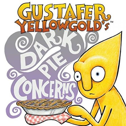 Gustier Yellowgold's Dark Pie Concerns album/DVD cover
