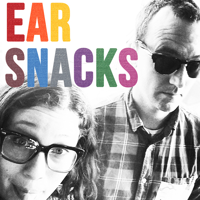 Andrew & Polly Ear Snacks podcast cover