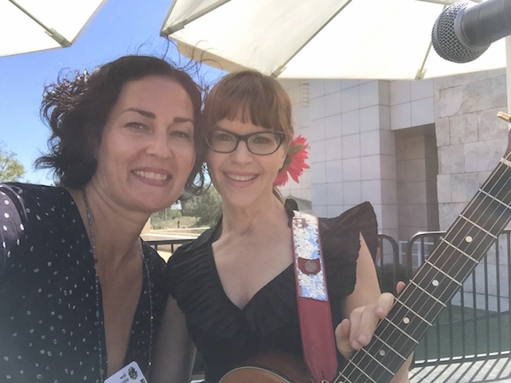 Renee Stahl and Lisa Loeb