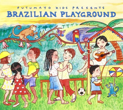 Putumayo Kids - Brazilian Playground album cover