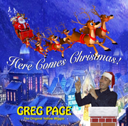 Greg Page - Here Comes Christmas cover
