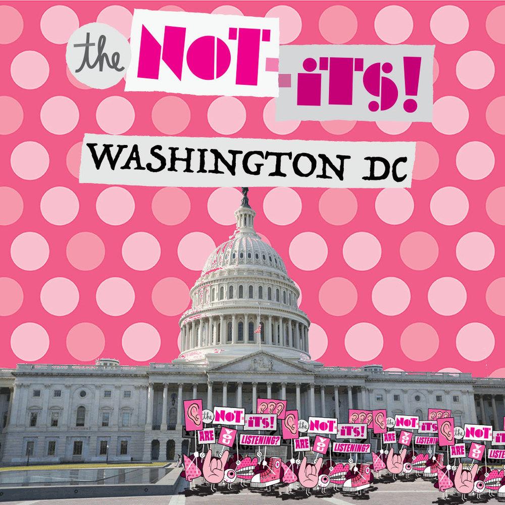 The Not-Its - Washington, DC single cover