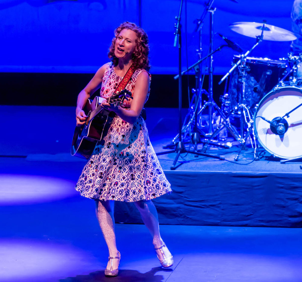Laurie Berkner performs at the Krannert Center