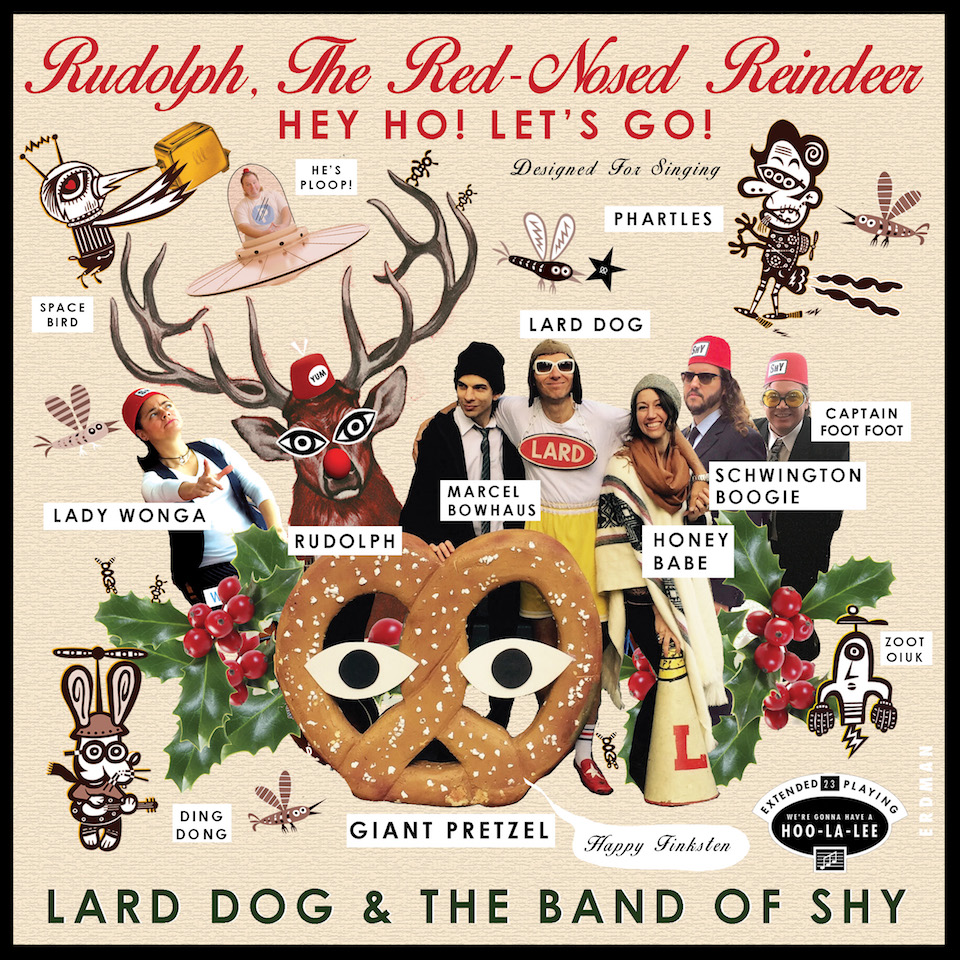 Lard Dog and the Band of Shy - Rudolph cover