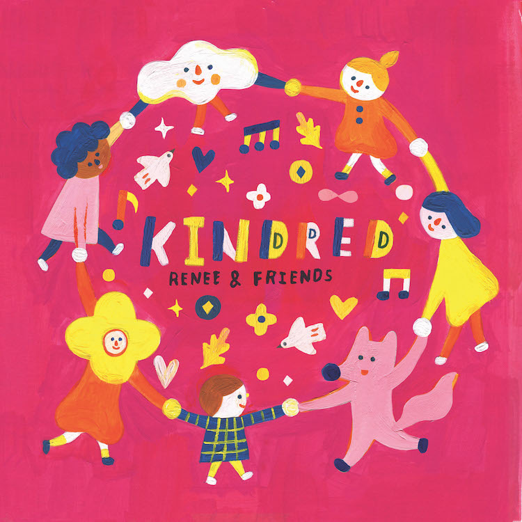 "Cover art for Renee & Friends album ""Kindred"""