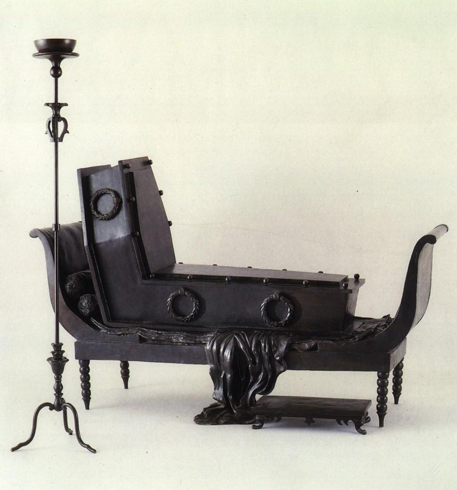 Mme Recamier de David, Rene Magritte, 1967