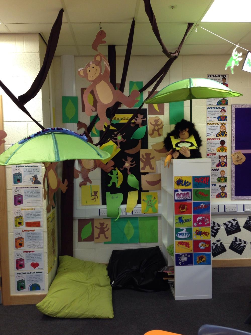 Classroom Theme Ideas For Reading ~ Betty jungle themed classroom — steve antony