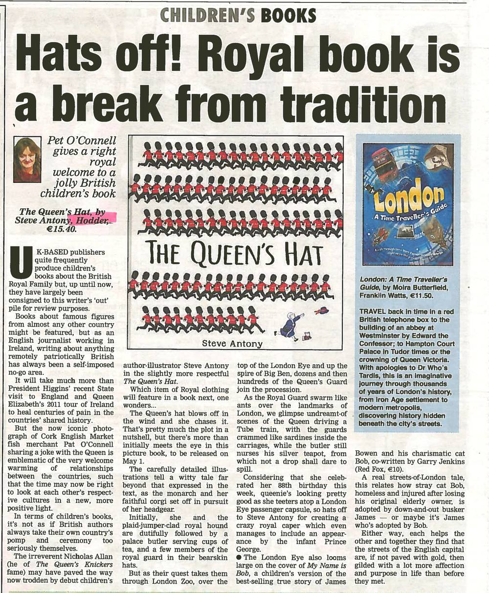 A full page review in Ireland's Echo
