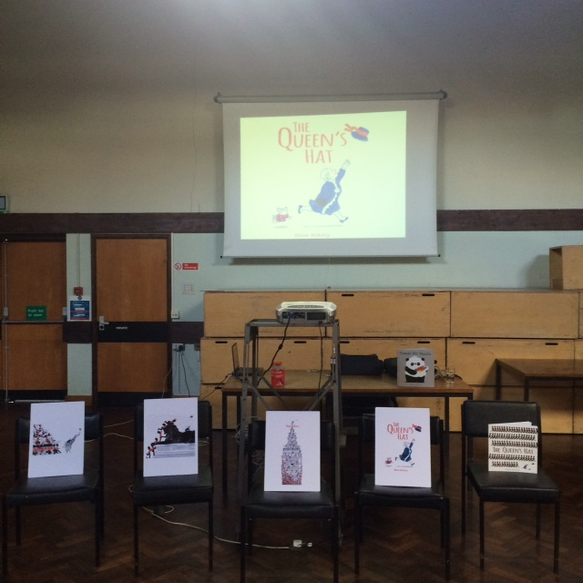 All ready in the main hall at Strood Library.