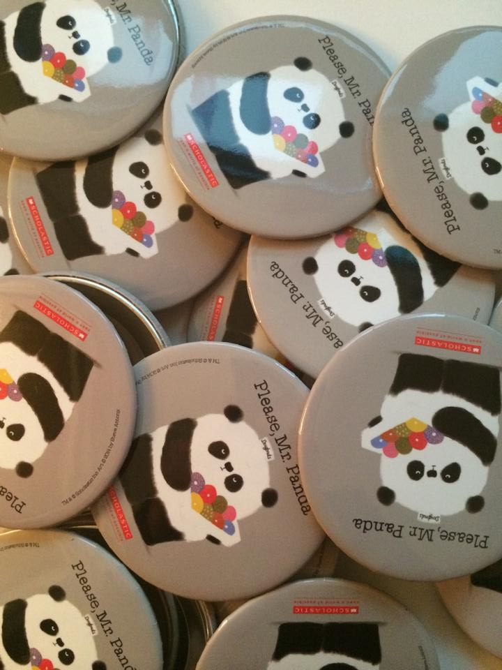 I was given these by Scholastic, Panda's US publisher, yesterday.