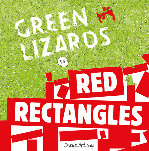 Green Lizards vs Red Rectangles