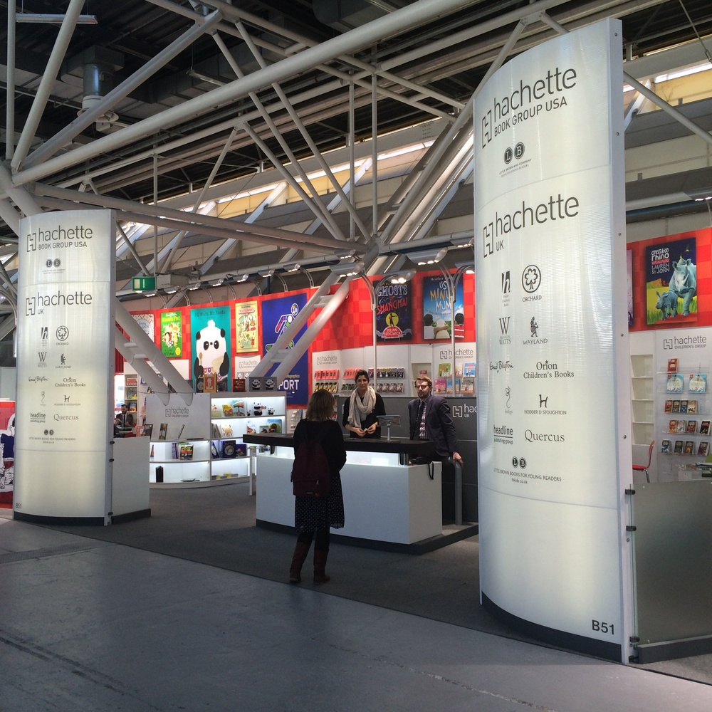 The Hachette stand.