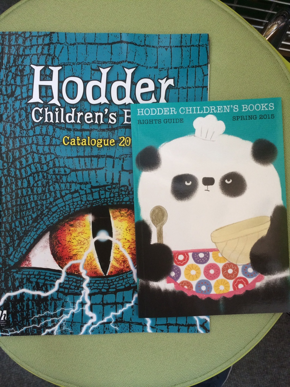 The Hodder Children's catalogues.