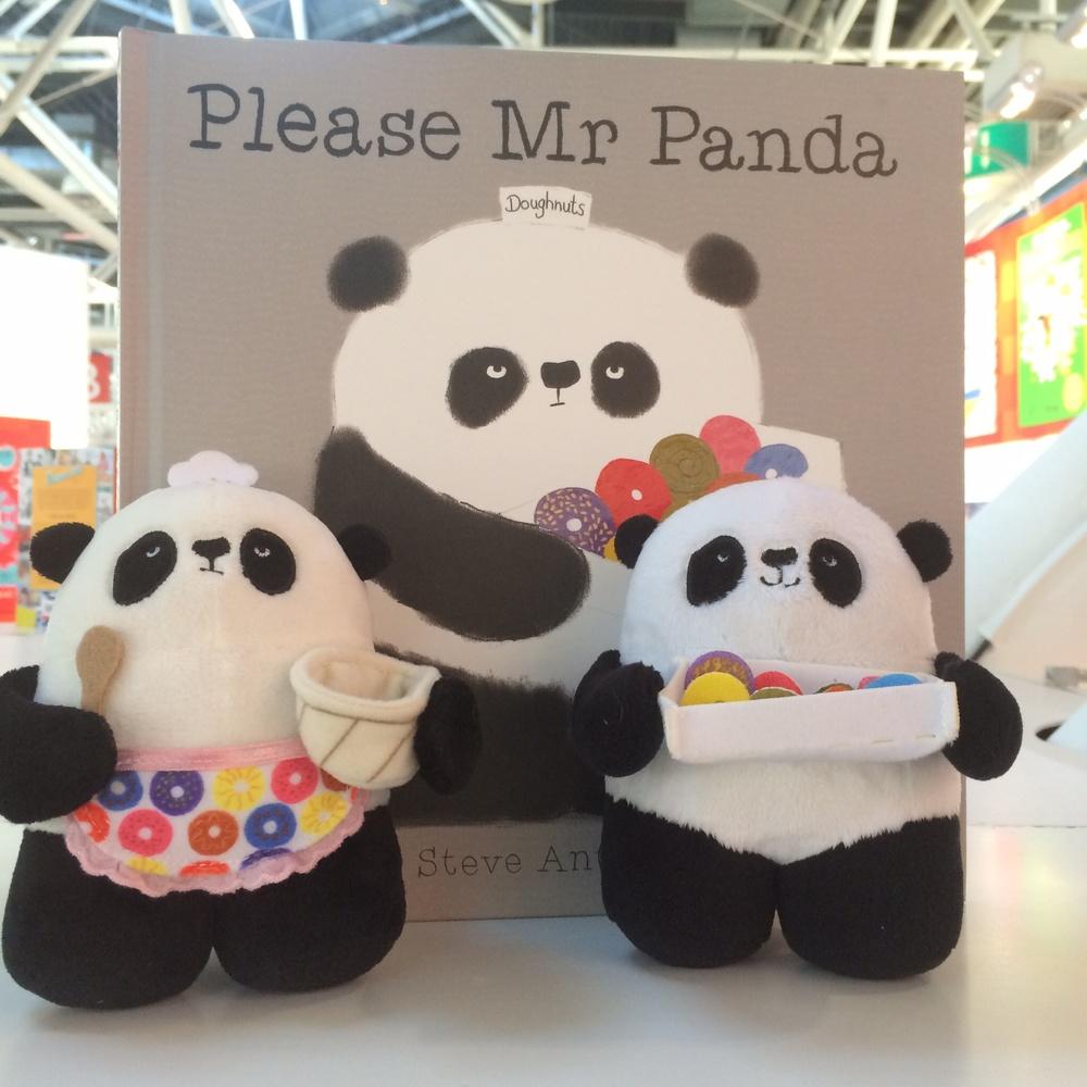Mr Panda plushes!