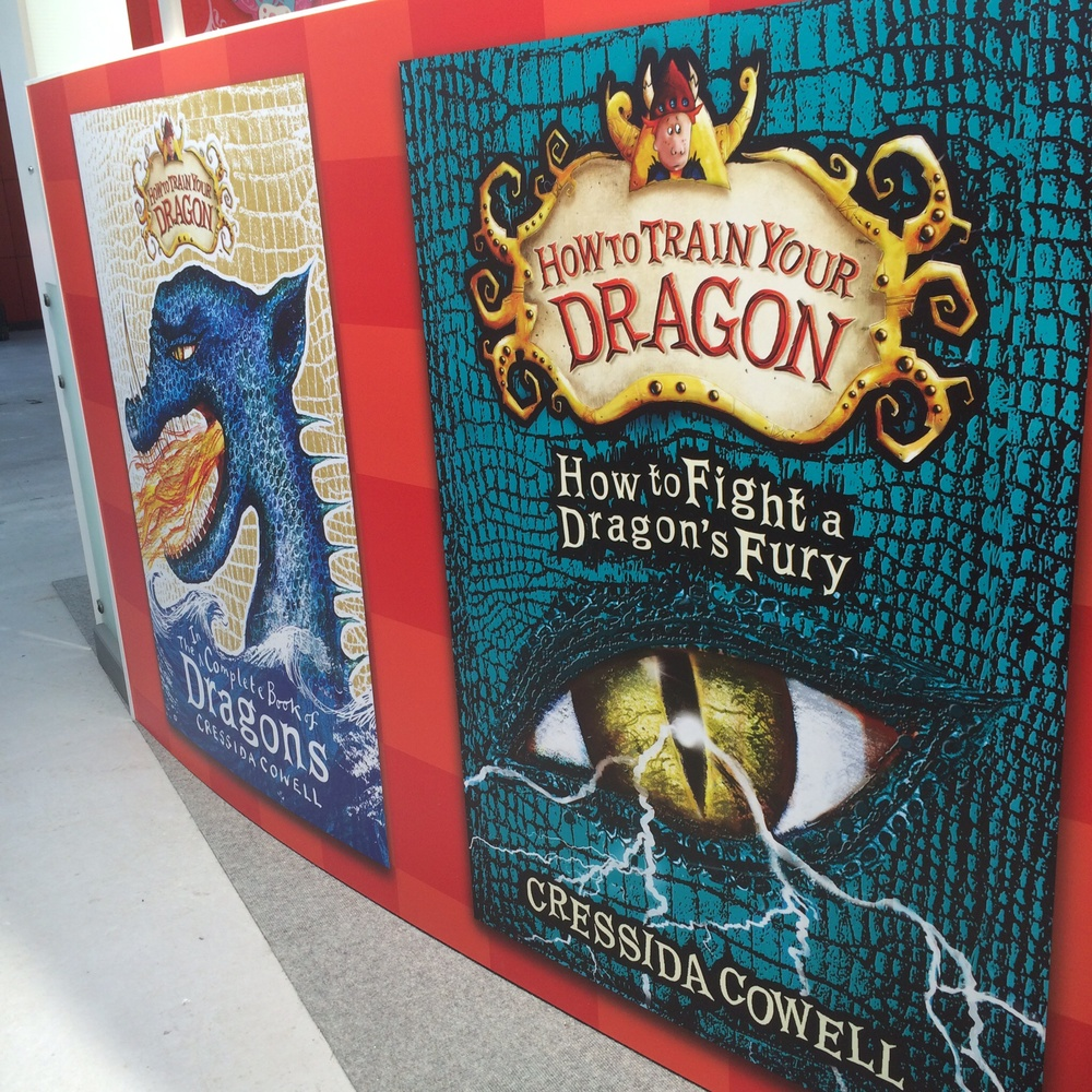 Cressida Cowell's final HTTYD book.
