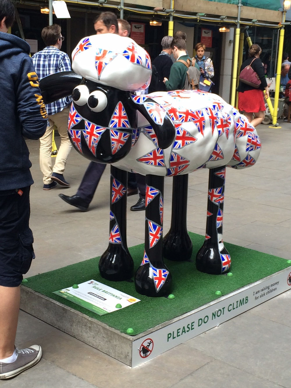 My statue is located at the corner of Carnaby Street, London.