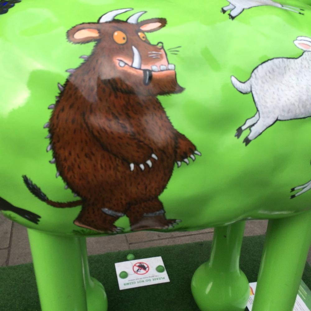 A Gruffalo Shaun the Sheep!