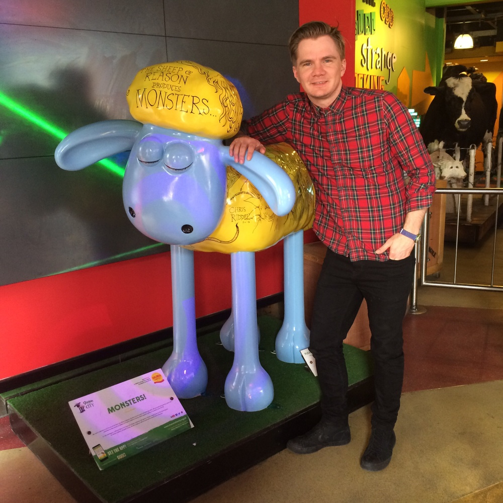 Me and a Shaun by Chris Riddell