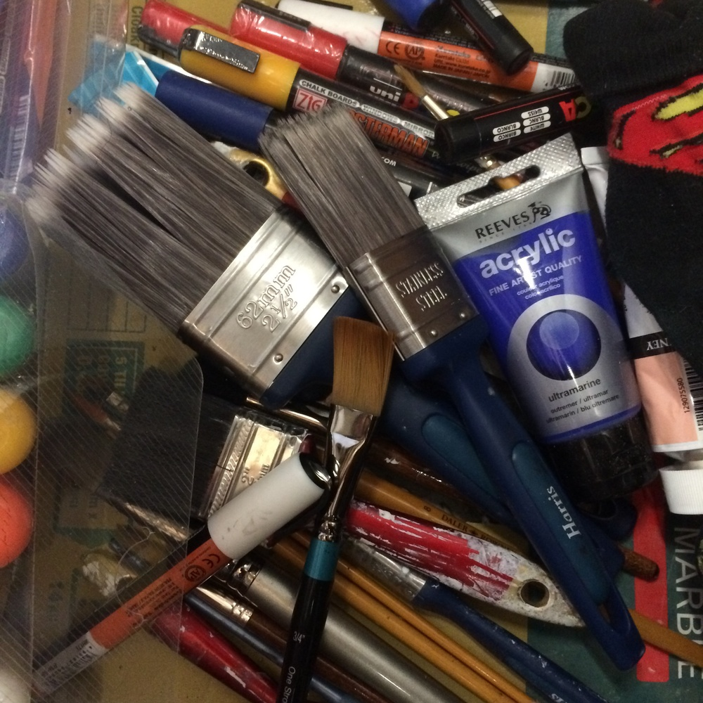 Lots of brushes.