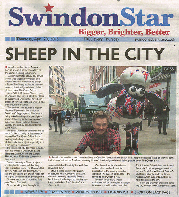 Swindon Star  - Read the article  HERE