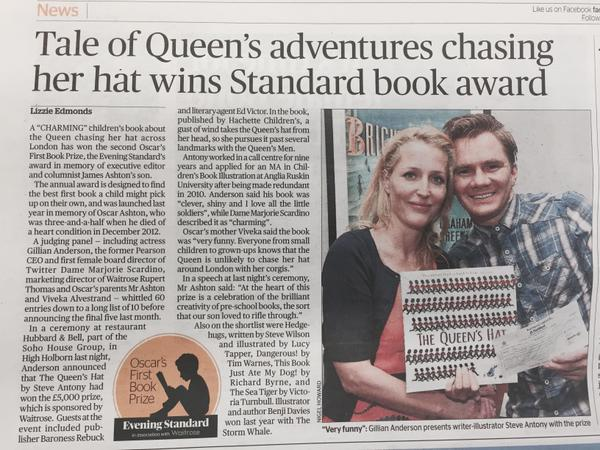 London Evening Standard  - Read the article  HERE