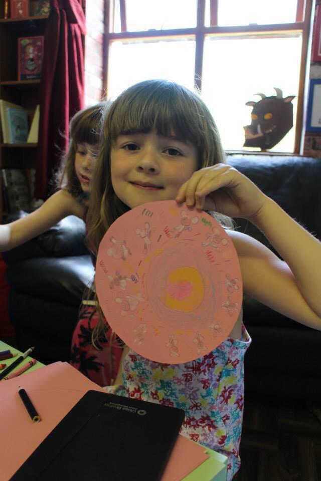 Monet's snazzy doughnut.