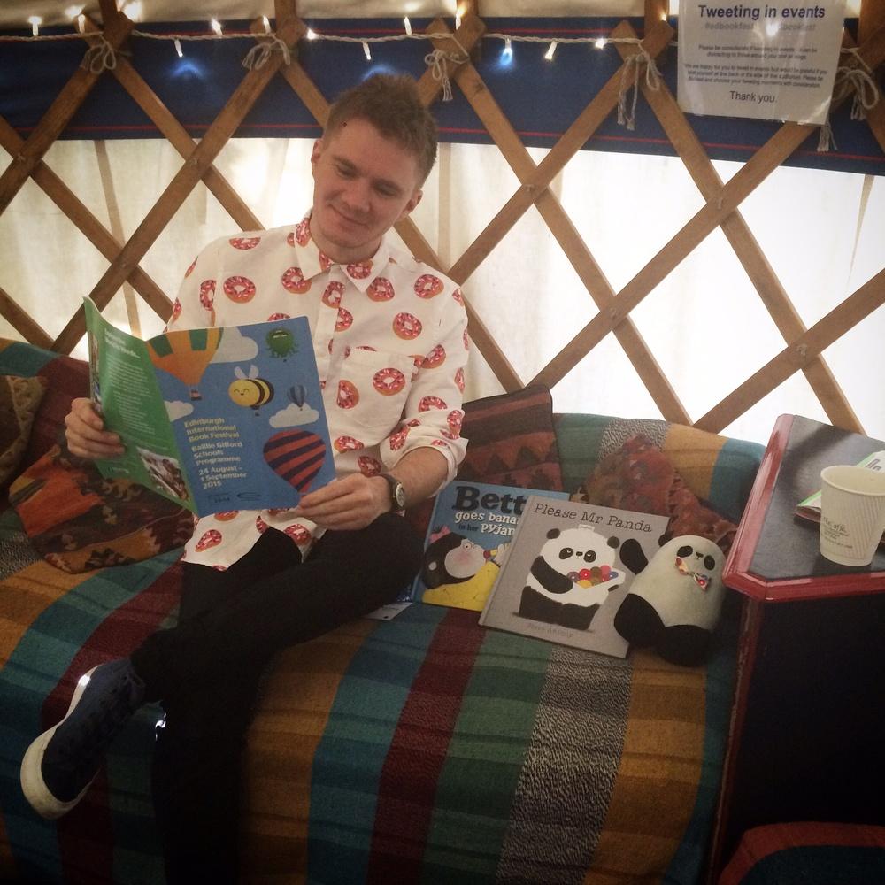 Author's yurt