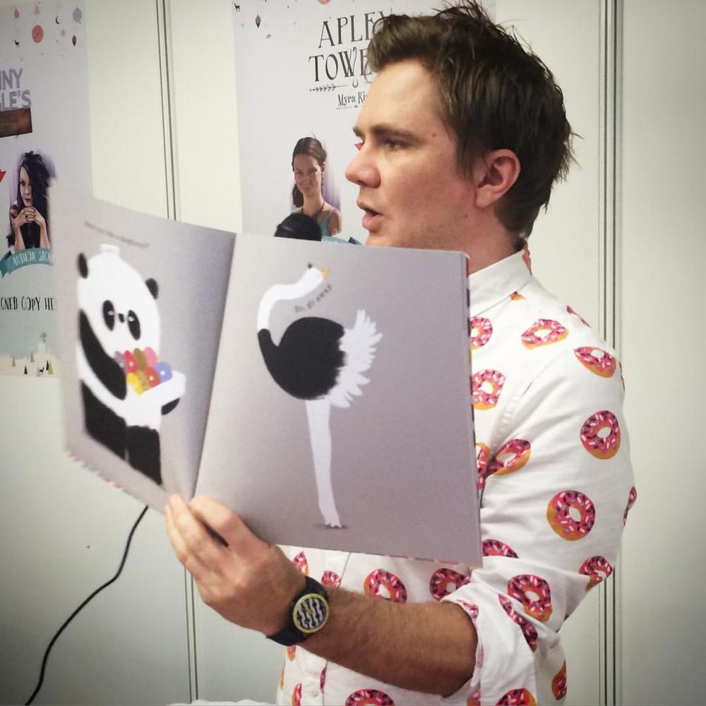 Reading Please Mr Panda