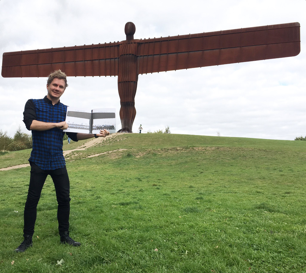 Angel of the North is in The Queen's Handbag