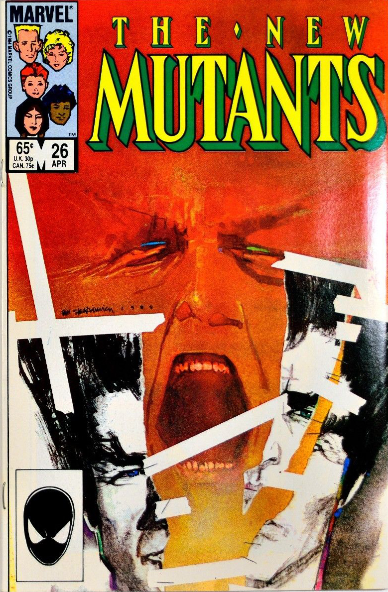 Bill Sienkiewicz's work sometimes freaked me out, and I loved it.