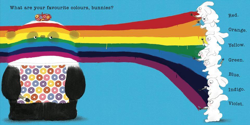 Mr Panda's Colours