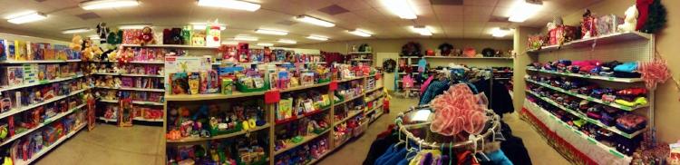 2016 Santa Shop