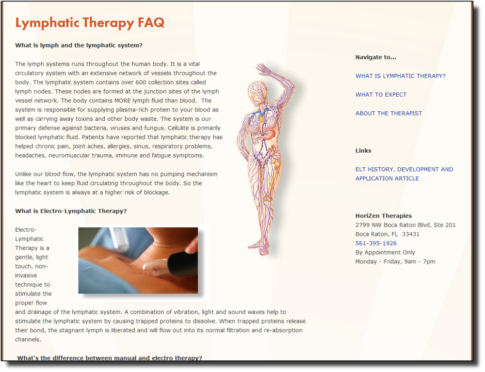 Electrolymphatic Drainage Pages