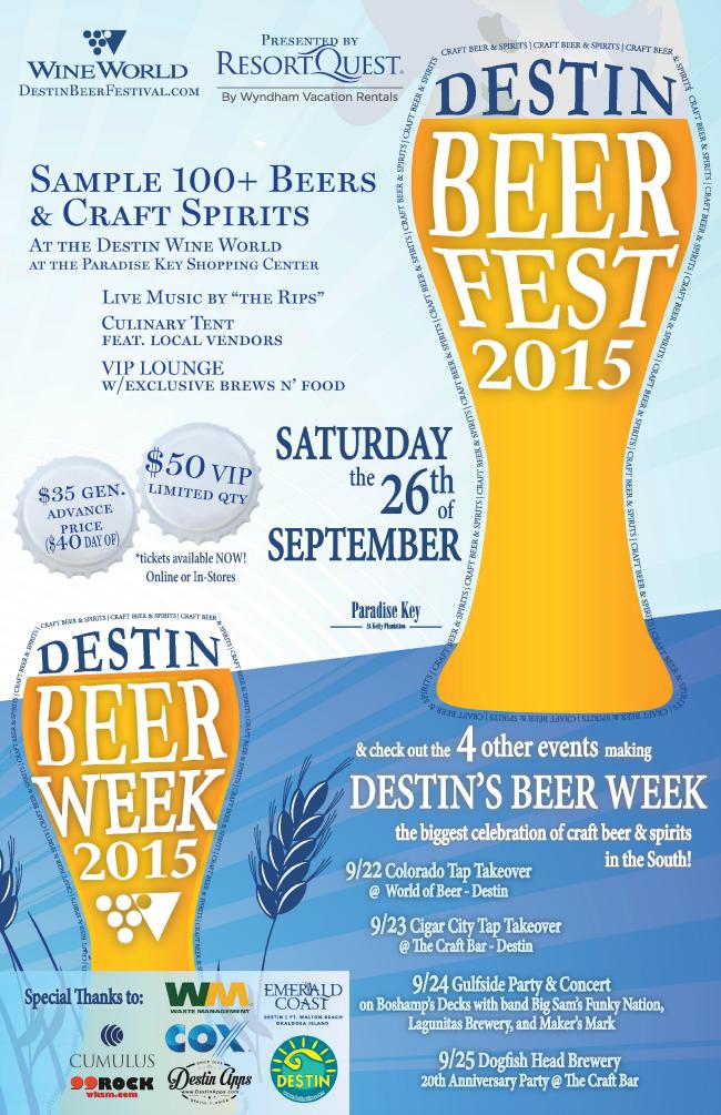 Destin Beer Week 2015 Poster