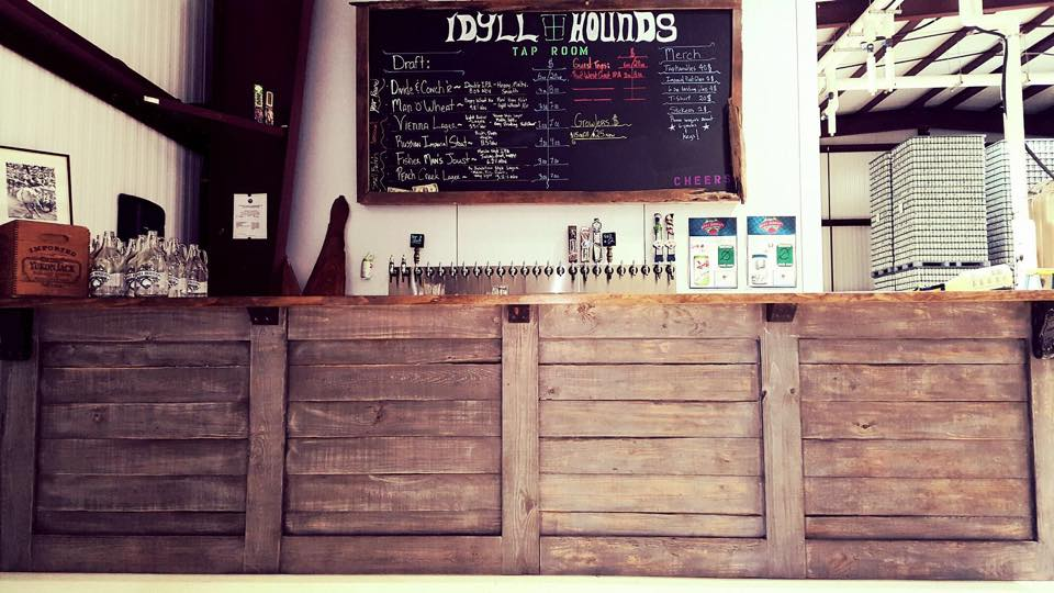 Idyll Hounds New Tap Room - Image Courtesy Idyll Hounds Brewing Company