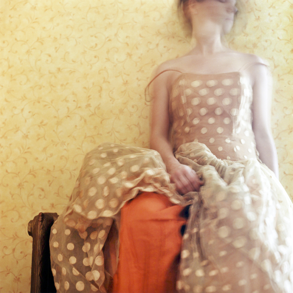 The Borrowed Prom Dress, Self Portrait. Rockport, Maine, 2003
