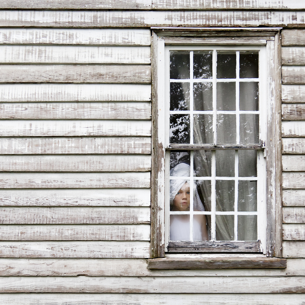 The Girl with the White Towel, Syd, Rockport, Maine, 2011