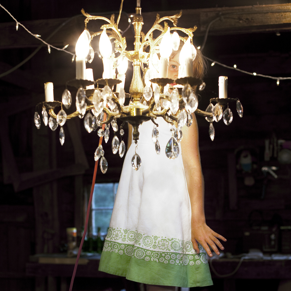 The Broken Chandelier, Syd, Rockport, Maine, 2009