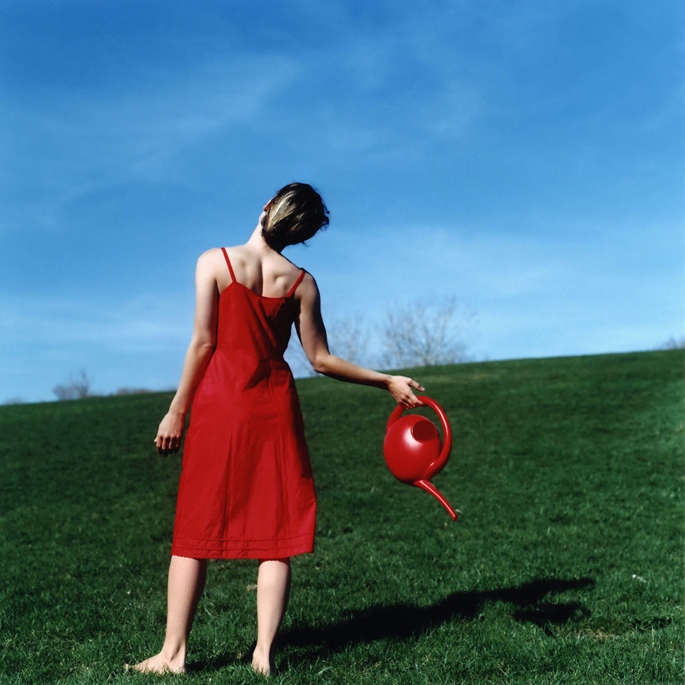 Watering Can, Self Portrait, Rockland, Maine, 2004