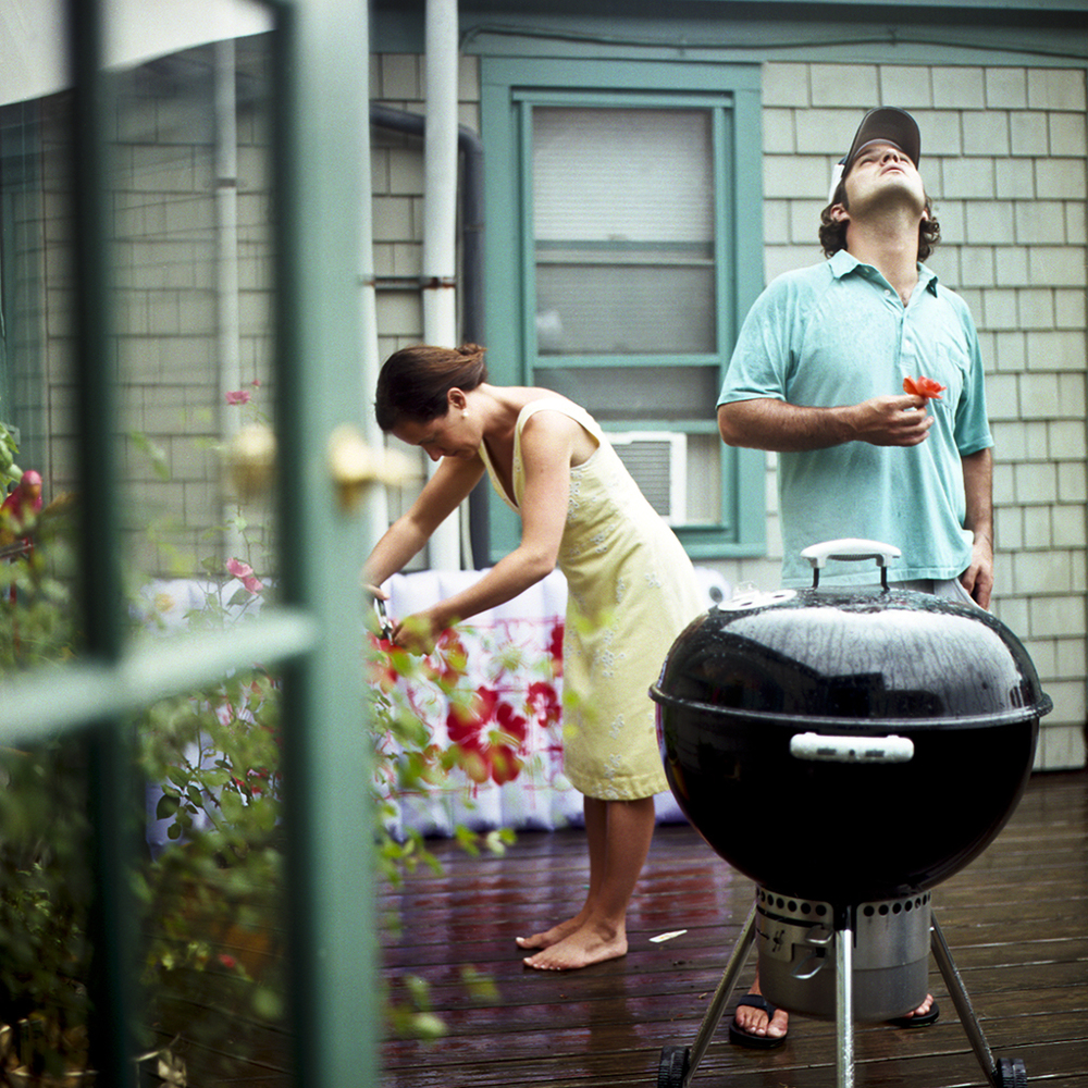 The Cookout, Self Portrait with Doug, Camden, Maine, 2006