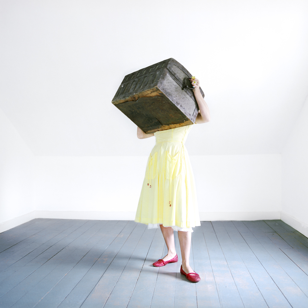 The Hope Chest, Self Portrait, Rockport, Maine, 2007