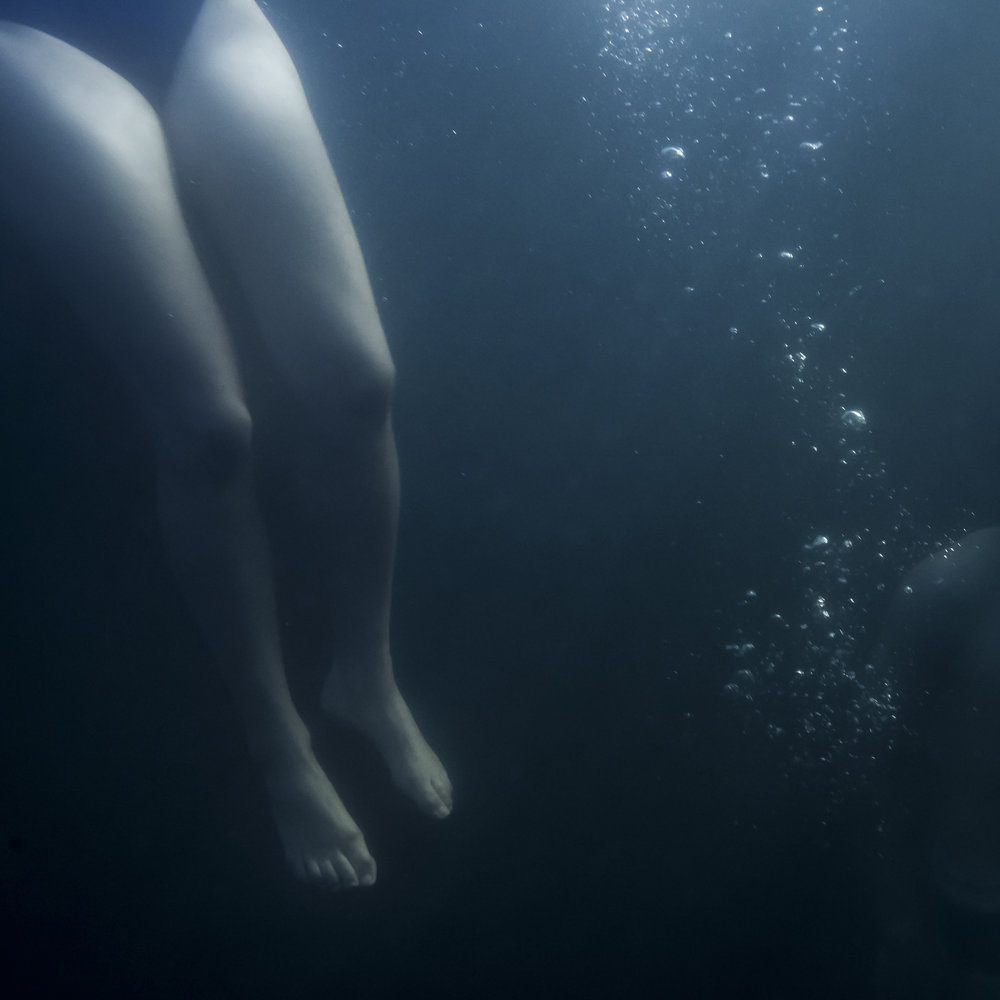 Two Swimmers, 2015,