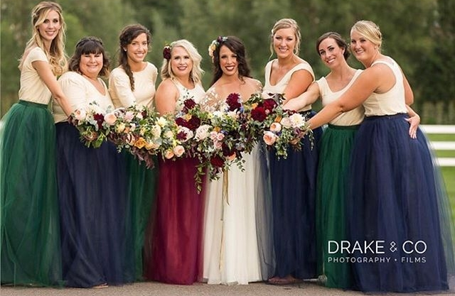 Custom Bridesmaids Dresses - Every detail for your wedding should be special including your Bridesmaids