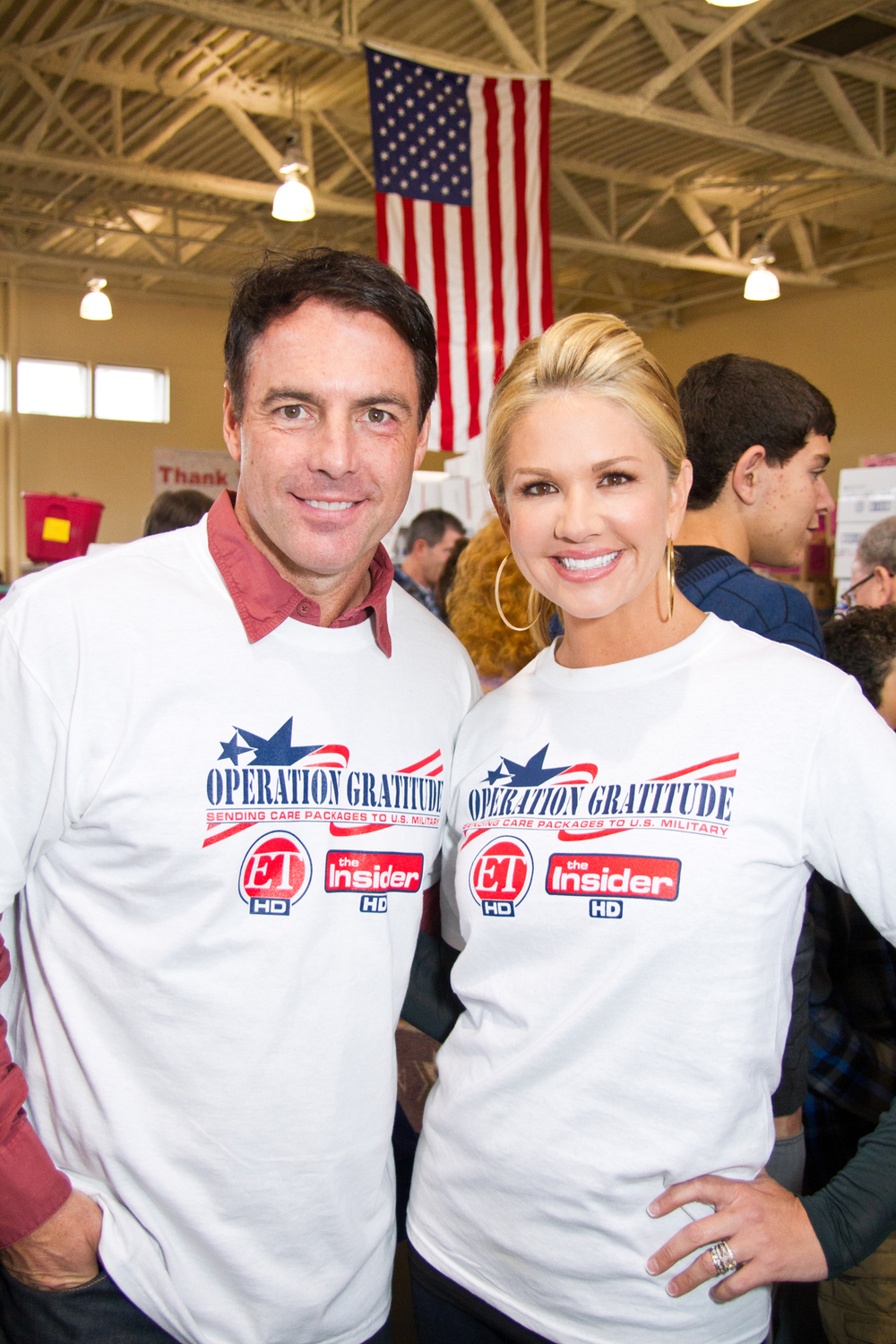 Mark Steines & Nancy O'Dell